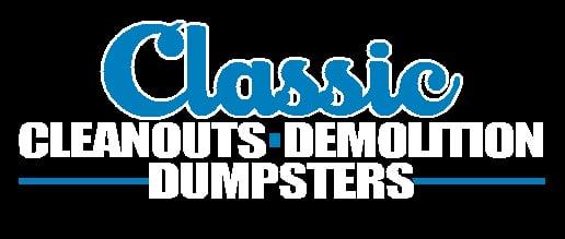 Classic Cleanouts Black Logo