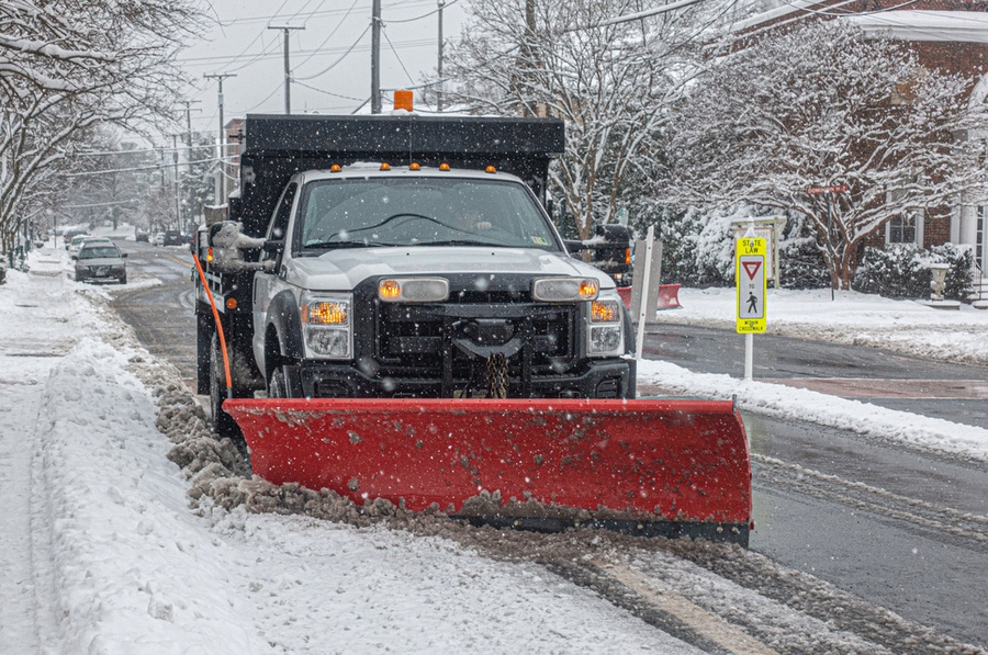 Snow blowing and Plowing, Malden MA