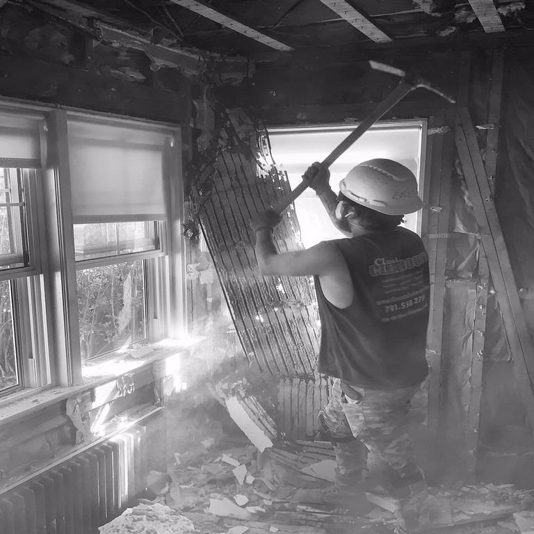 Demolition of Interior Wall Malden MA