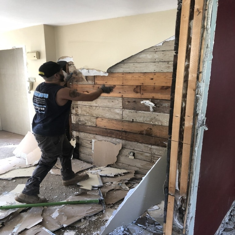 Selective Wall Demolition Malden MA