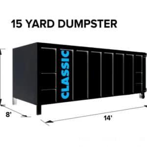 15 Yard Dumpster Rental Malden MA